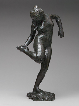 Degas, Dancer Looking at the Sole of Her Right Foot, ca. 1900, Metropolitan Museum