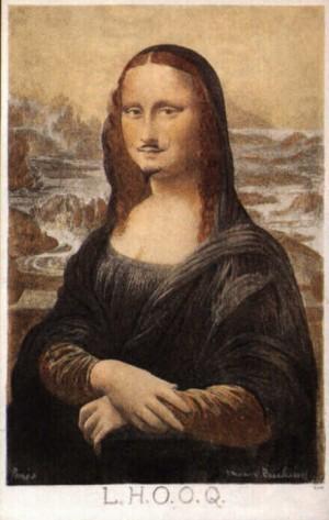 Duchamp's Mona