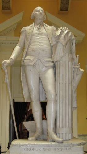 Houdon, George Washington, Virginia State Capitol, 1796