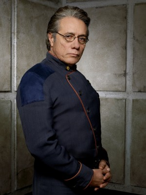 Edward James Olmos as Admiral William Adama