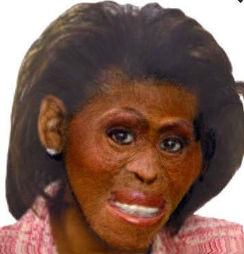 michelle obama looking ugly