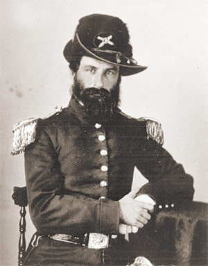 Captain George Sholter James, in happier times