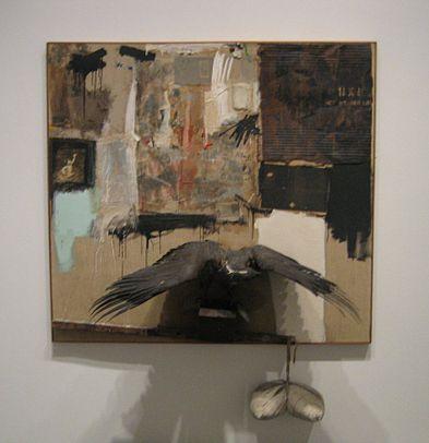 Robert Rauschenberg, _Canyon_, 1959