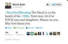 University of Kansas Professor David Guth Suspended For Repulsive Anti-NRA Tweet