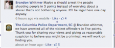"Columbia, SC Police Chief:  DrugWar WrongThink Creates Reasonable Suspicion To ""Find You"""