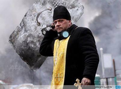 Ukrainian Priest (photo by Sergey Gapon)