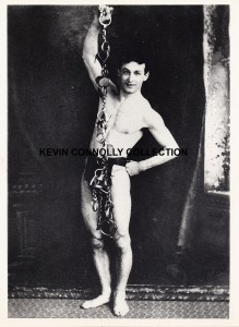 Houdini, late 1890s, Kevin Connolly Collection