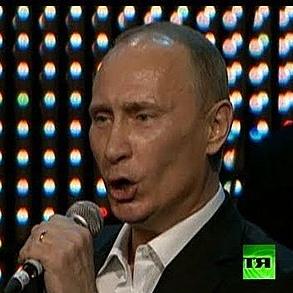 Putin-Singing