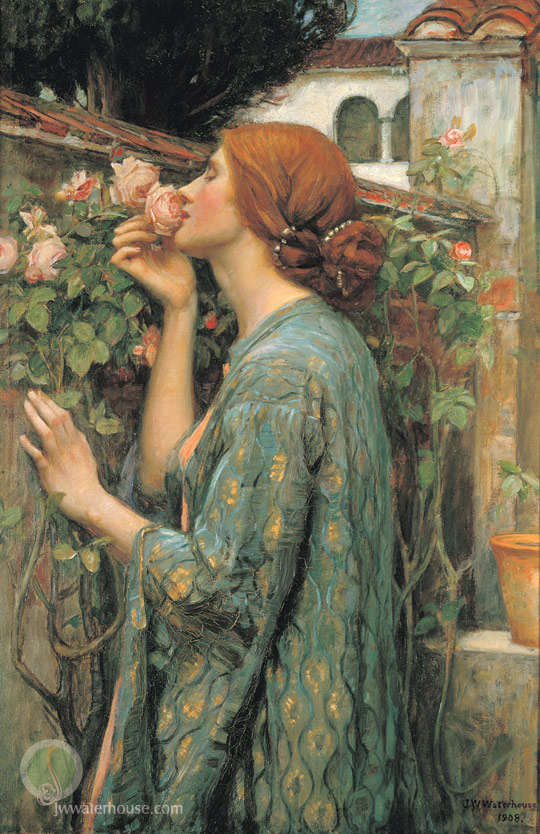 John Waterhouse, My Sweet Rose, 1908
