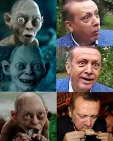 Turkish President Erdoğan's Precious (Feelings)