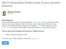 How I Got Barred From Posting on Twitter (Updated With Coda)